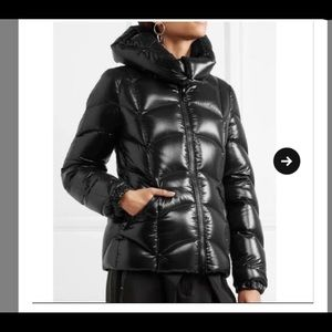 Used authentic black moncler Akebia